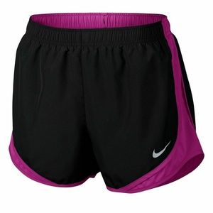 Nike Dry Tempo Running Shorts Black/Pink Size S